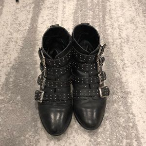 Rebecca Minkoff studded boots size 6